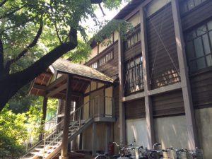 現在、浴恩館考古資料などを展示する小金井市文化財センターとして利用されている。