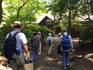 浴恩館公園。作家の下村湖人が小説『次郎物語』の構想を練った「浴恩館」がある公園。